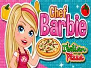 Chef Barbie Italian Pizza