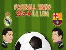 FOOTBALL HEADS 2013-14 LA LIGA