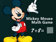 Mickey Mouse Math Game