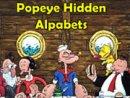 Popeye Hidden Alphabets