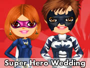Super Hero Wedding