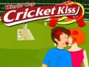 World Cup Cricket Kiss