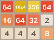 2048 Online Brain Teaser Game
