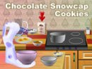 Chocolate Snowcap Cookies