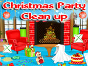 Christmas Party Cleanup