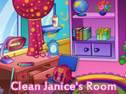 Clean Janice's Room