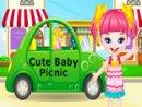 Cute Baby Picnic