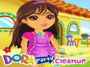 Dora Party Cleanup