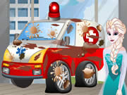 Elsa Ambulance Cleaning