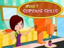 Irene's Serving Skill