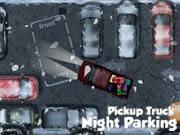 Pickup Truck Night Parking