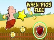When Pigs Flee