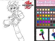 Bakugan Coloring