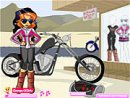 Biker Betty Dressup