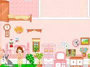 Decorate dollhouse