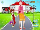Go To School With Mother