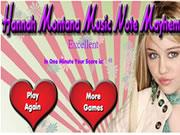 Hannah Montana Music Note Mayhem