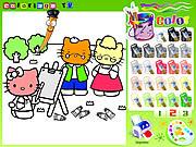 Hello Kitty Painting