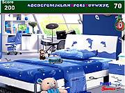 Kids Blue Bedroom Hidden Alphabets