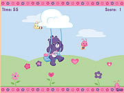 Share Bear's Catch-a-Petal Game
