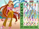 Winx Club Flora Dress Up