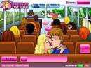 Yellow Bus Kiss