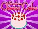 Hello Kitty Strawberry Cheese Cake