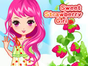 Sweet Strawberry Girl