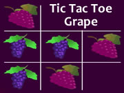 Tic Tac Toe Grape