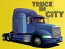 Truck in City