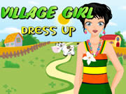 Village Girl Dress Up