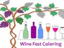 Wine Fest Coloring
