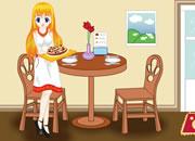 Chic Restaurant Waitress