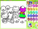 Coloring Kitty