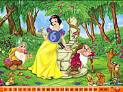 Hidden Numbers - Snow White