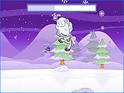 Snowy Pony