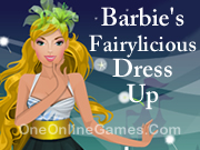 Barbie's Fairylicious Dress Up