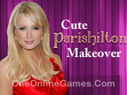 Cute Paris Hilton Makeover