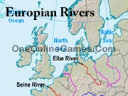 Europian Rivers Topography