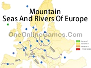 Mountain, Seas And Rivers Of Europe