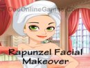 Rapunzel Facial Makeover