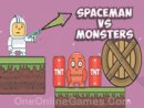 Spaceman vs Monters