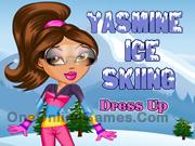 Yasmine Ice Skiing Dress Up