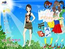 Sun and Leaves Dressup