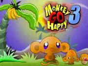 Monkey GO Happy 3