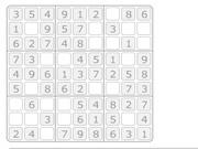 White Sudoku