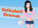 Volleyball Dressup Game