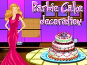 Barbie Cake Deco
