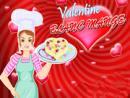 Barbie Cooking Valentine Blancmange