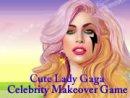 Cute Lady Gaga Celebrity Makeover Game